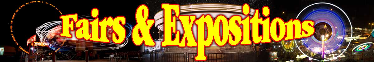 this image is the header graphic for the section of tabletop exercises designed for Fairs & Exposition Management